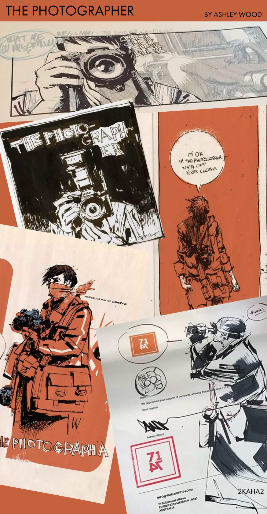 The Photographer by Ashley Wood