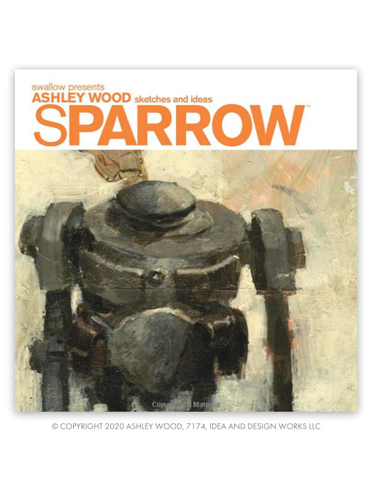 Sparrow Vol 0: Ashley Wood Sketches and Ideas by Ashley Wood