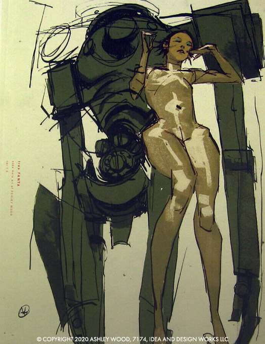 Tres Fanta: Even More Art Of Ashley Wood