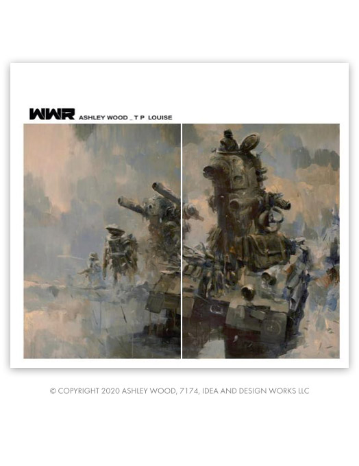 WWR 215mm HC Edition by Ashley Wood, TP Louise