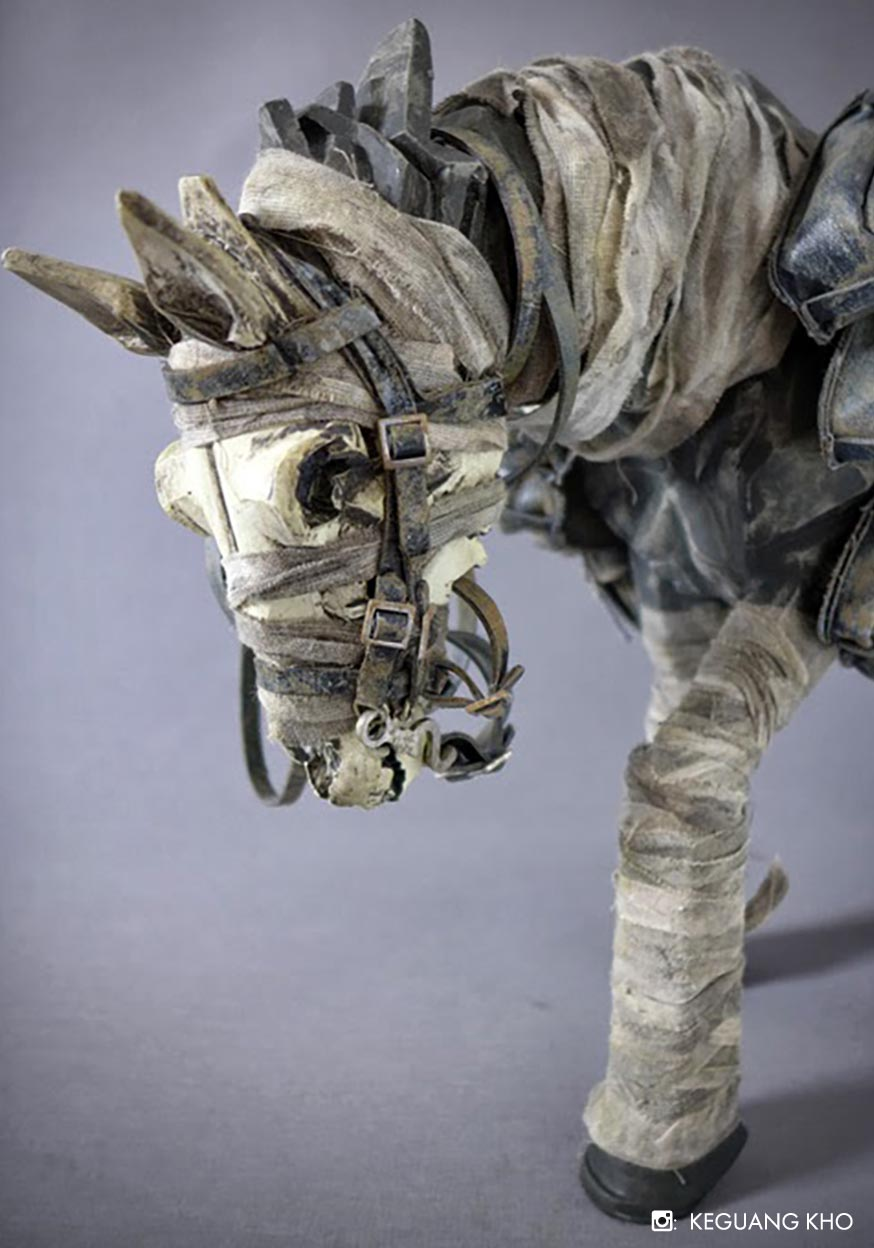 Dark Ghost Horse By Ashley Wood One Sixth Toy Release Info Variants Photos Related Items And More At 3afans Com The Unofficial Threea Toys Fansite