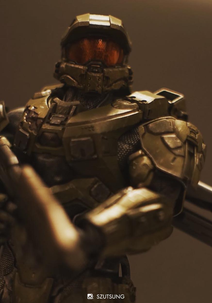 Halo Master Chief Bambaland Exclusive Weapon Version