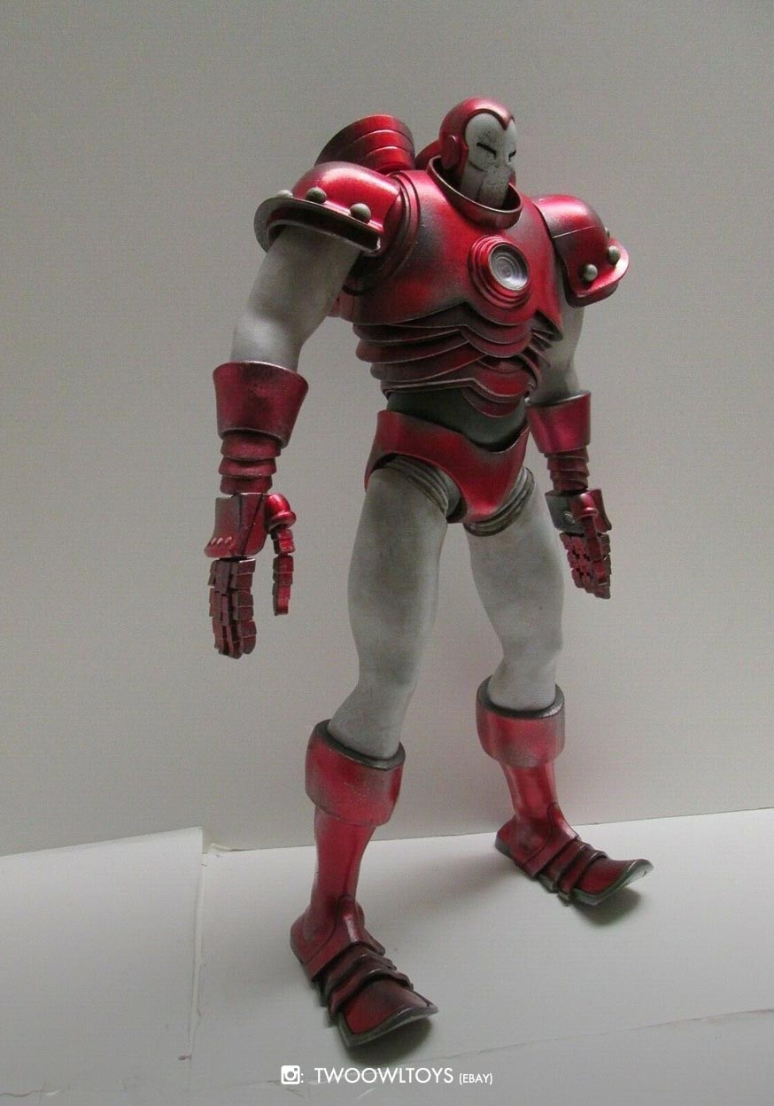 The Invincible Iron Man Silver Centurion