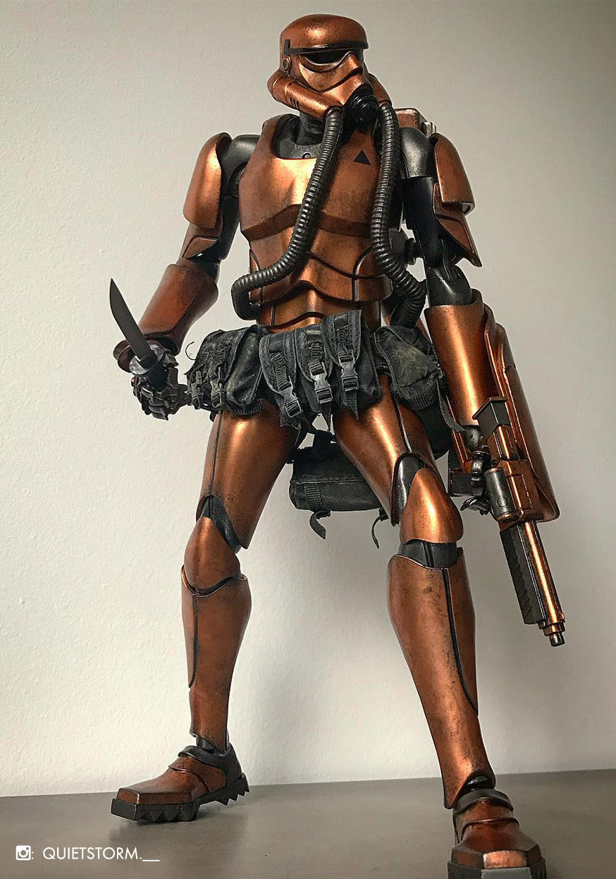 Showa TK Trooper V2 - Suicide Rose Commando
