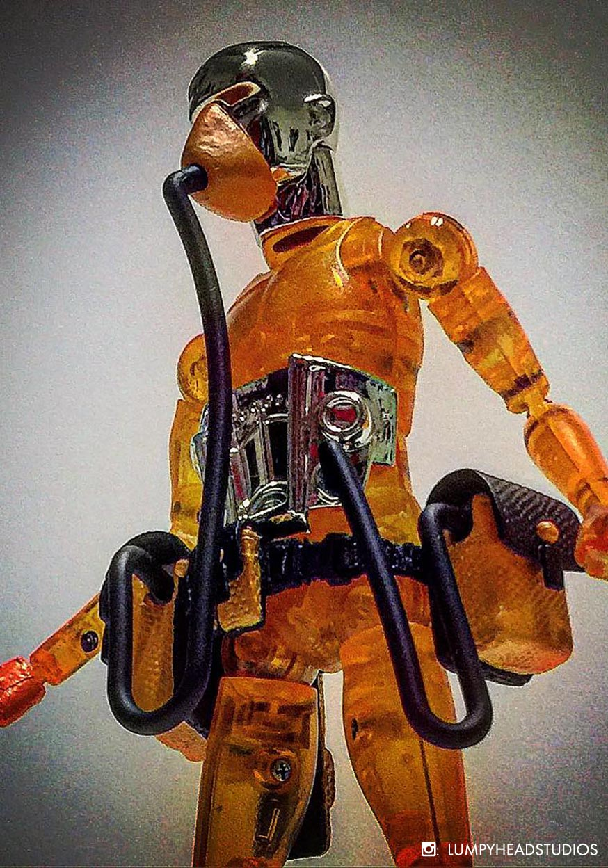 String Divers SD08 Patrick Clear Orange