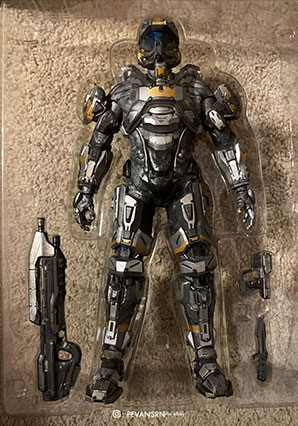 HALO Spartan Recruit by Ashley Wood, 3A Toys