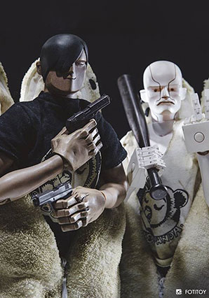 888 Three Fat Tarts Set Handsome Wu and F-Legion 6023 - AK - Ashley Wood