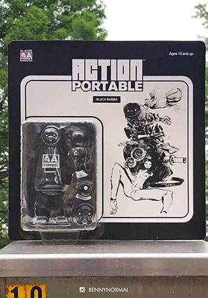 Action Portable Black Bamba -  - Ashley Wood
