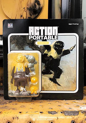 Action Portable Pudding Boss -  - Ashley Wood