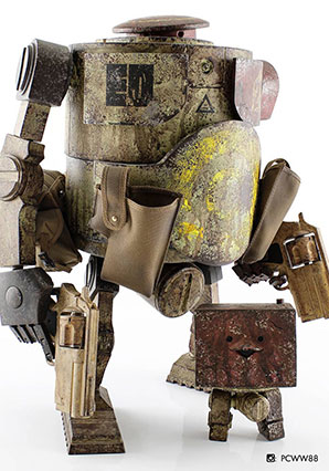 Bramble MK2 Euro Defence Olivier - WWR - Ashley Wood
