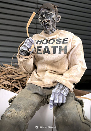 Choose Life NYCC Legion Zomb - AK - Ashley Wood