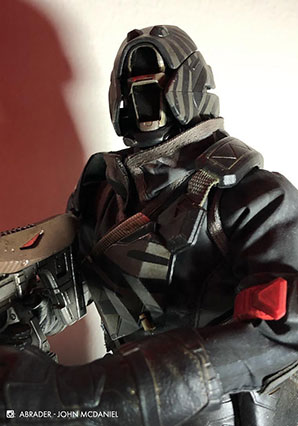 Destiny Warlock Old Guard Shader by Ashley Wood, 3A Toys