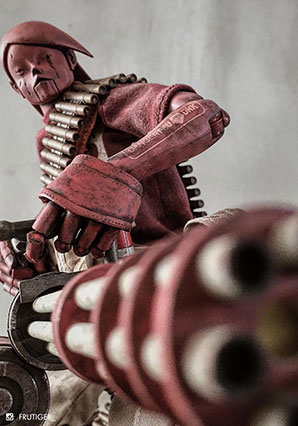 EDO Red Commander - POP - Ashley Wood