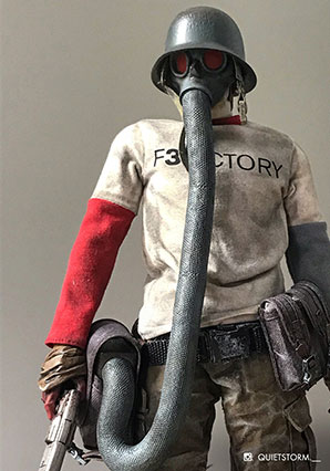 F3ACTORY NOM de Plume by Ashley Wood, 3A Toys