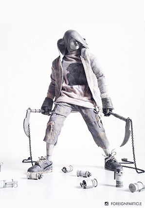 Geist Nage MIA TK Ranger - POP - Ashley Wood