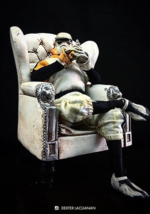 Lonely Trooper TK Sergeant -  - Ashley Wood