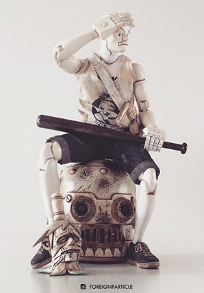 Lucky 8 Panda Merc Two F-Legion 6023 by Ashley Wood, 3A Toys
