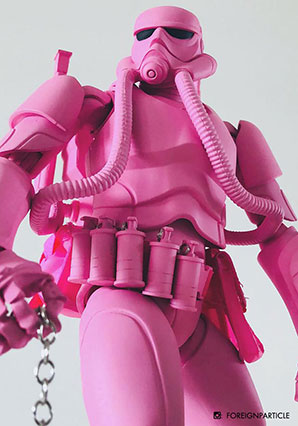 Showa TK Trooper V2 - Shocking Pink Trooper - SWA - Ashley Wood