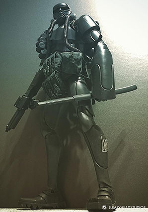 Showa TK Trooper V2 - Black Sun Commando - SWA - Ashley Wood