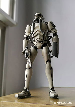 Showa TK Trooper V2 - Ranger - SWA - Ashley Wood