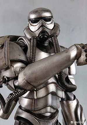 Showa TK Trooper V2 - Silver Commando - SWA - Ashley Wood
