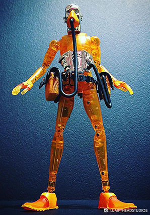 String Divers SD08 Patrick Clear Orange - MICRO - Ashley Wood