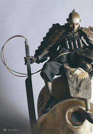 TK Shogun Deathmask - POP - Ashley Wood