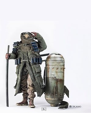 TKLUB 4 Ronin TK Sun plus SUP Bomb - POP - Ashley Wood