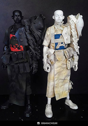 TK Shogun Shadow and Light Set LTD - POP - Ashley Wood