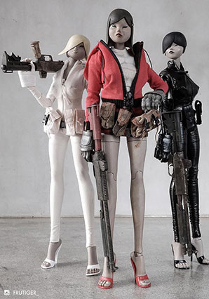 Tomorrow Queen 3 Pack - POP - Ashley Wood