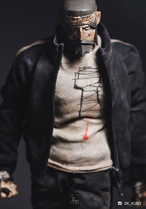 Tracky Boss JC by Ashley Wood, 3A Toys