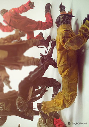 Acolyte Zomb Yellow Boiler Suit by Ashley Wood, 3A Toys