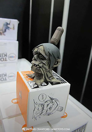 Zombacle Severed Head by Ashley Wood, 3A Toys