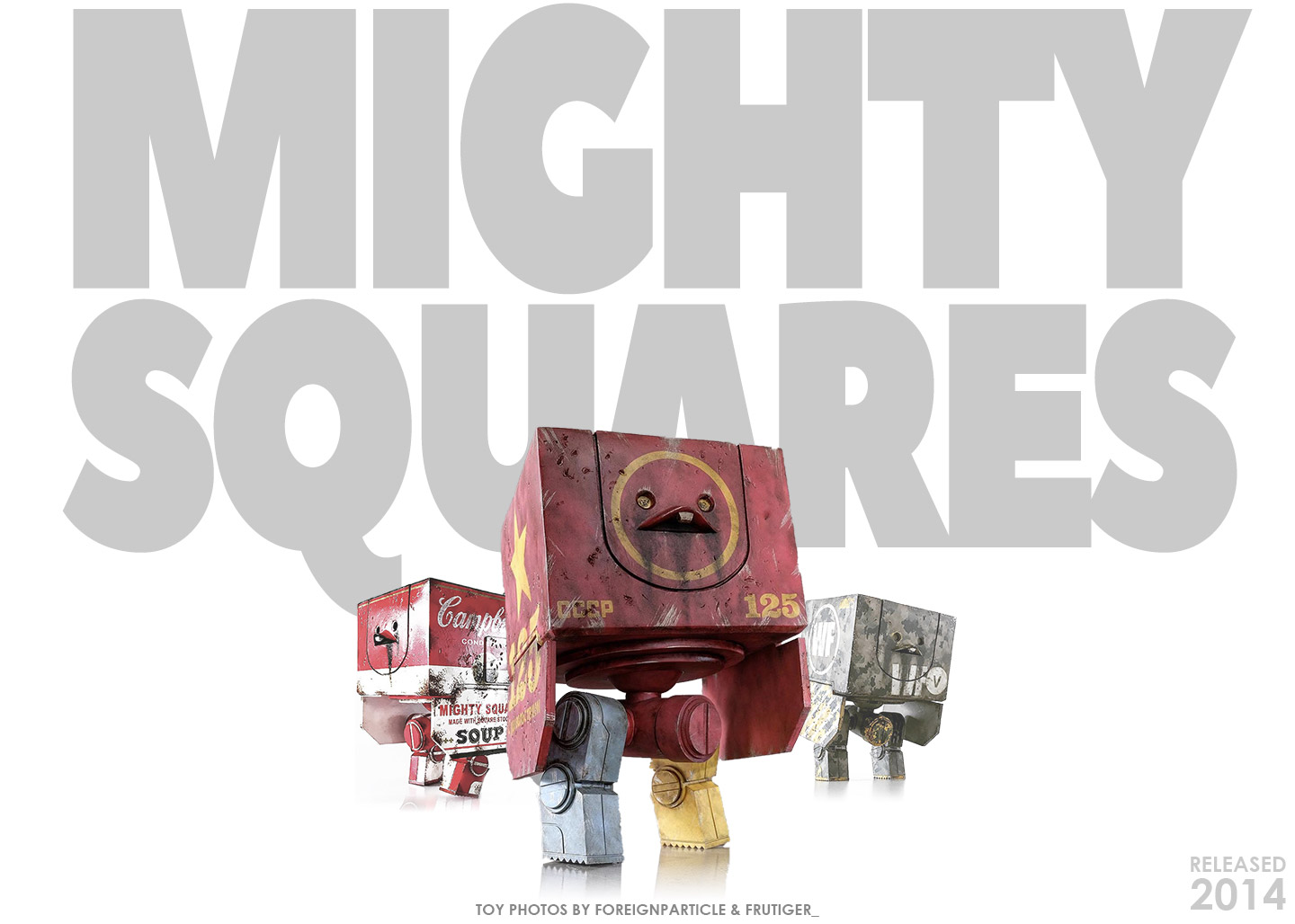 Mighty Squares by ThreeA, released 2014