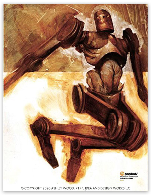 Popbot Collection v1 by Ashley Wood, Sam Keith