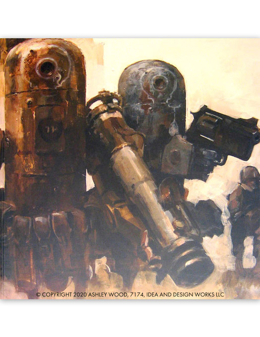 World War Robot Illustrated by Ashley Wood