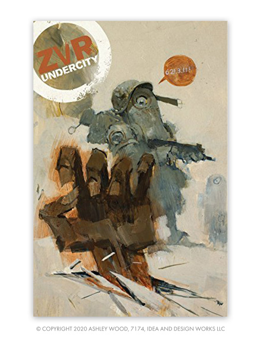 Zombies Vs Robots Undercity by Chris Ryall, Ashley Wood