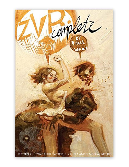 ZVR Complete Kindle Edition by Chris Ryall, Ashley Wood