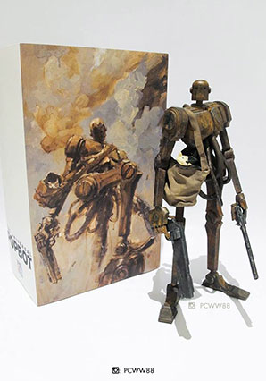 2 Hand Popbot - POP - Ashley Wood