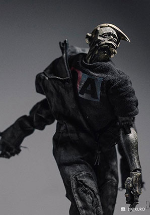 Acolyte Zomb Black Boiler Suit - AK - Ashley Wood