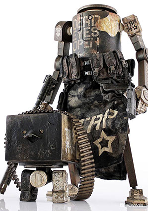 Dropcloth Shocktrooper Iron Panda - WWR - Ashley Wood