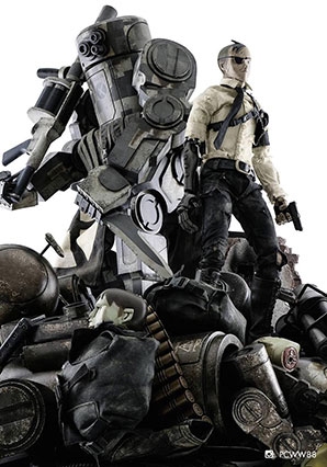 EVOL Only The Smartest Will Survive Super Set - WWR - Ashley Wood