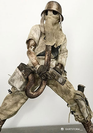 Fantome de Plume - WWR - Ashley Wood