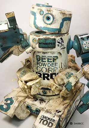 HaroldFS Box Set DEEP POWDER - WWR - Ashley Wood