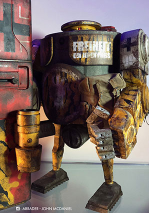 Heavy Bramble MK3 African Defence Freiheit - WWR - Ashley Wood