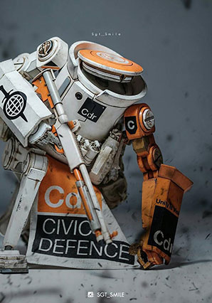 SOTF Civic Dropcloth 1 5 Commander - WWR - Ashley Wood