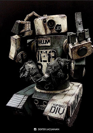 Harold the Fucktard JEA MARINE Set - WWRp - Ashley Wood